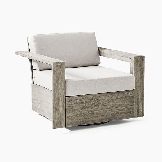 portside outdoor swivel chair