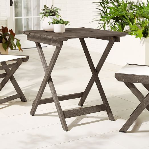 portside outdoor folding bistro table