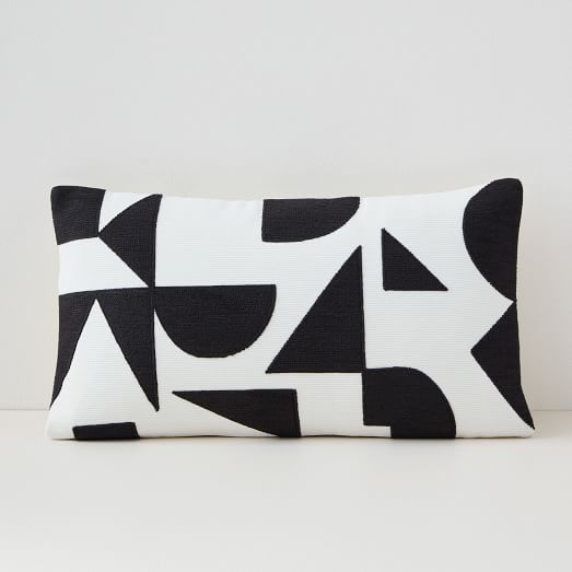 margo selby mix geo lumbar pillow cover