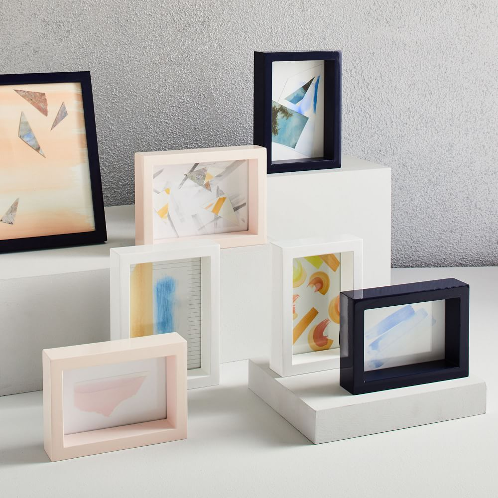 assorted modern lacquer frames