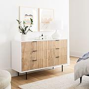 solid wood bedroom dresser