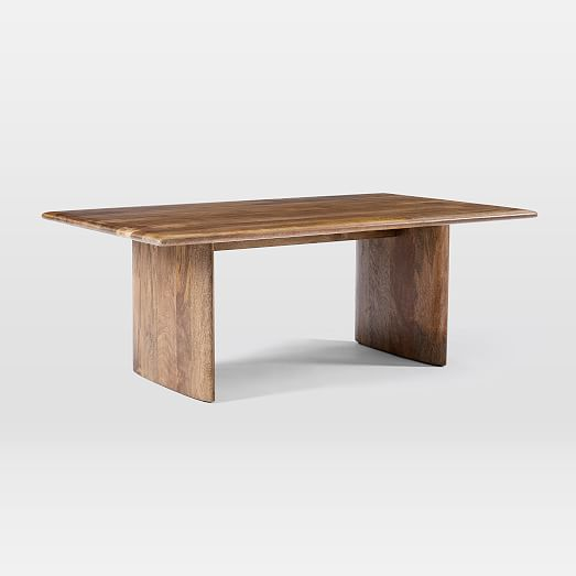 anton solid wood coffee table rectangle