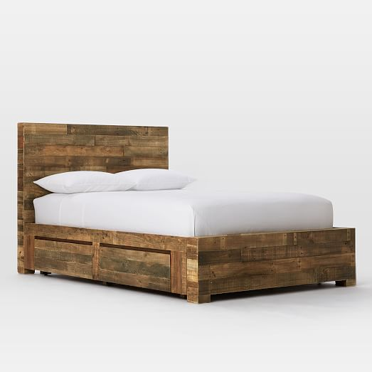 emmerson reclaimed wood storage bed