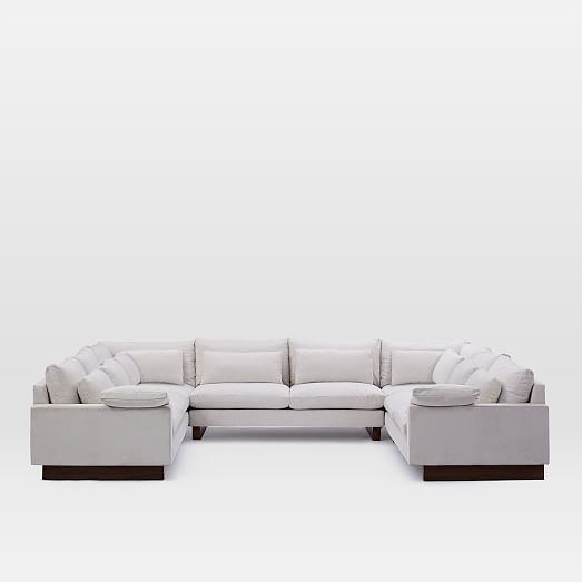 harmony 5 piece u shaped sectional