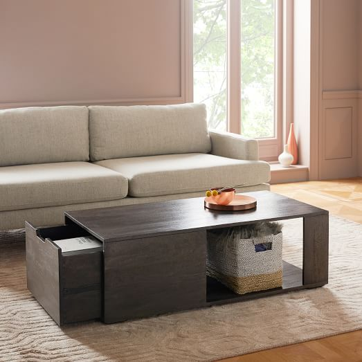 pure storage coffee table carbon