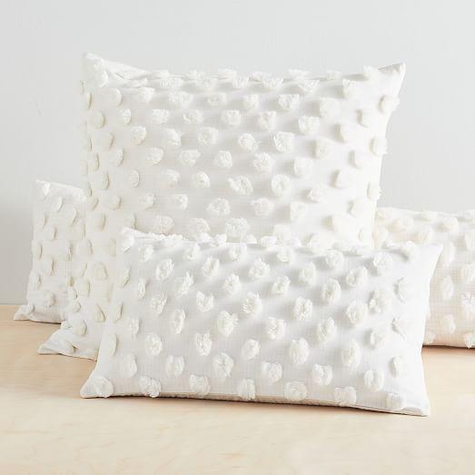 candlewick oversized lumbar pillow cover