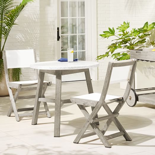 mosaic outdoor bistro table folding
