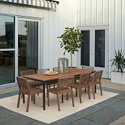 outdoor dining furniture west elm