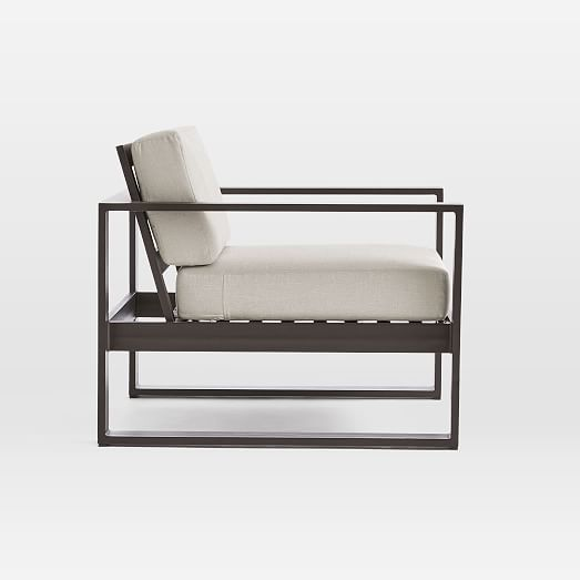 portside aluminum outdoor lounge chair