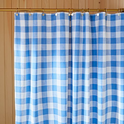 https www westelm com products hth gingham shower curtain b3590