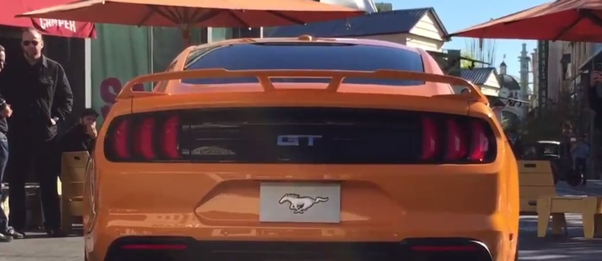 2018 ford mustang active exhaust rev video