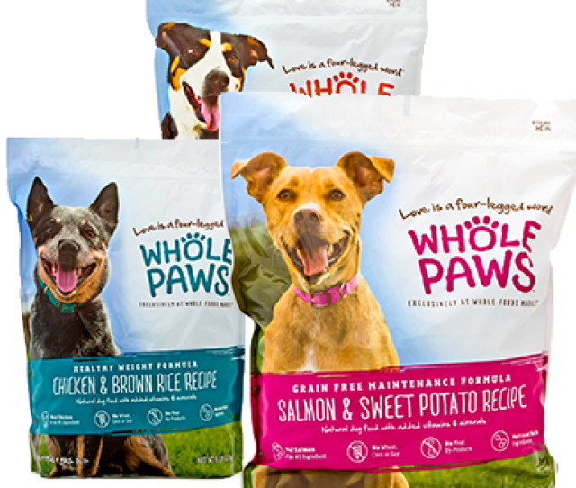 Whole Paws Brand Dry Dog Food