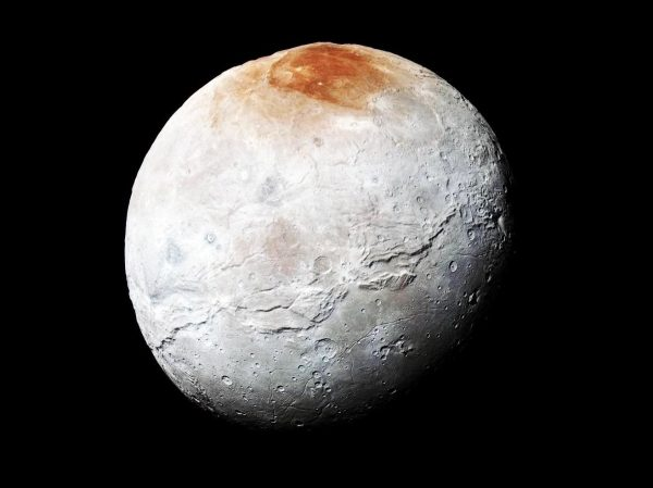 How Plutos Moon Charon Got Its Dusty Red Cap WIRED