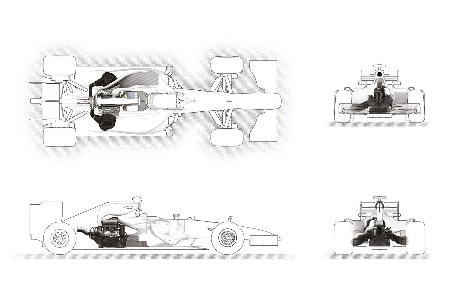 An Illustrated Guide To F1 S Radical New Engine
