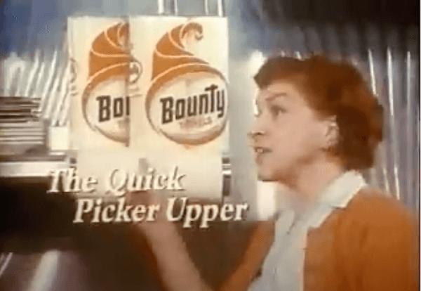 advertising and marketing slogans: bounty quicker picker upper