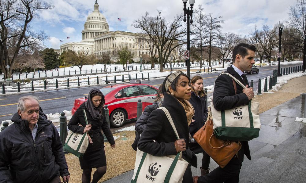 On Lobby Day, WWF activists head to Capitol Hill to engage ...