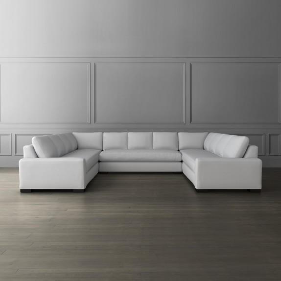 robertson 3 piece u shape sofa sectional