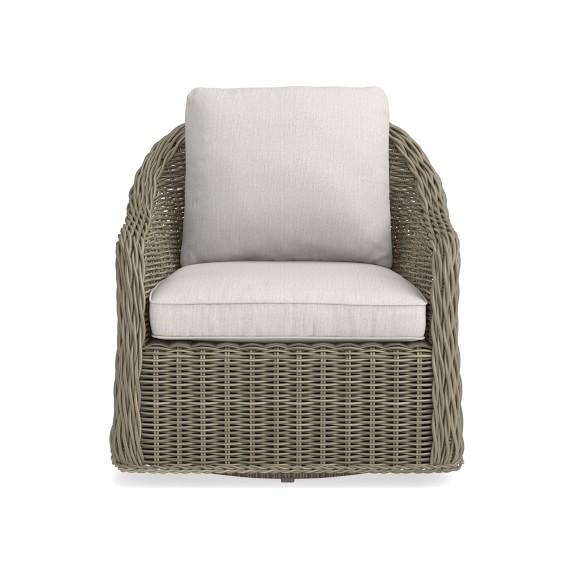 manchester outdoor swivel chair