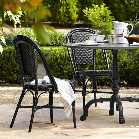 parisian bistro indoor outdoor side chair