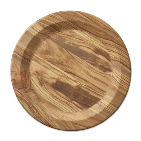 Olivewood Charger Plate