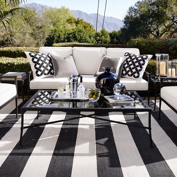 bridgehampton outdoor coffee table