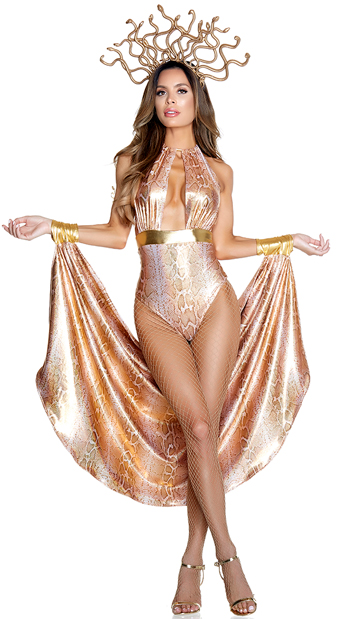 Slither Goddess Costume Mighty Medusa Costume