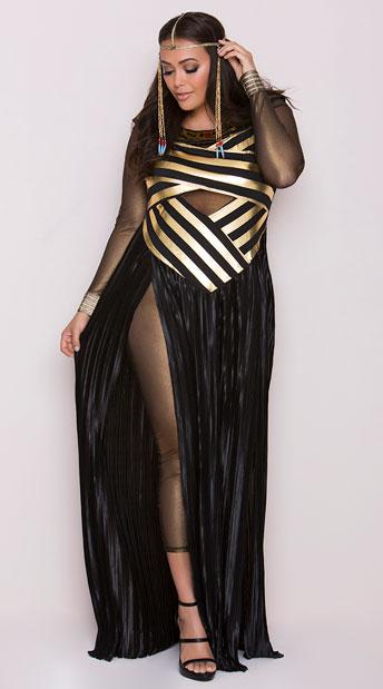 Plus Size Goddess Isis Costume Plus Size Egyptian Costume