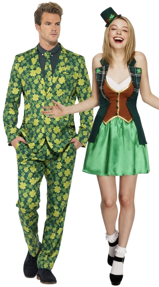 St. Patrick's Couples Costume, St. Patrick Sweetie Costume ...