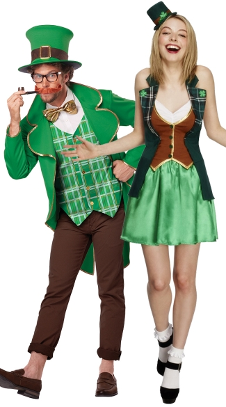 Luck of the Irish Couples Costume, St. Patrick Sweetie ...