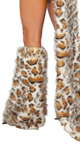 Frisky Leopard Costume Legwarmers Frisky Legwarmers
