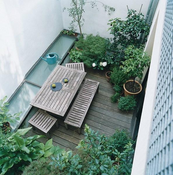 indoor gardens apartment design Garden Apartment | Paris, France. - Yellowtrace