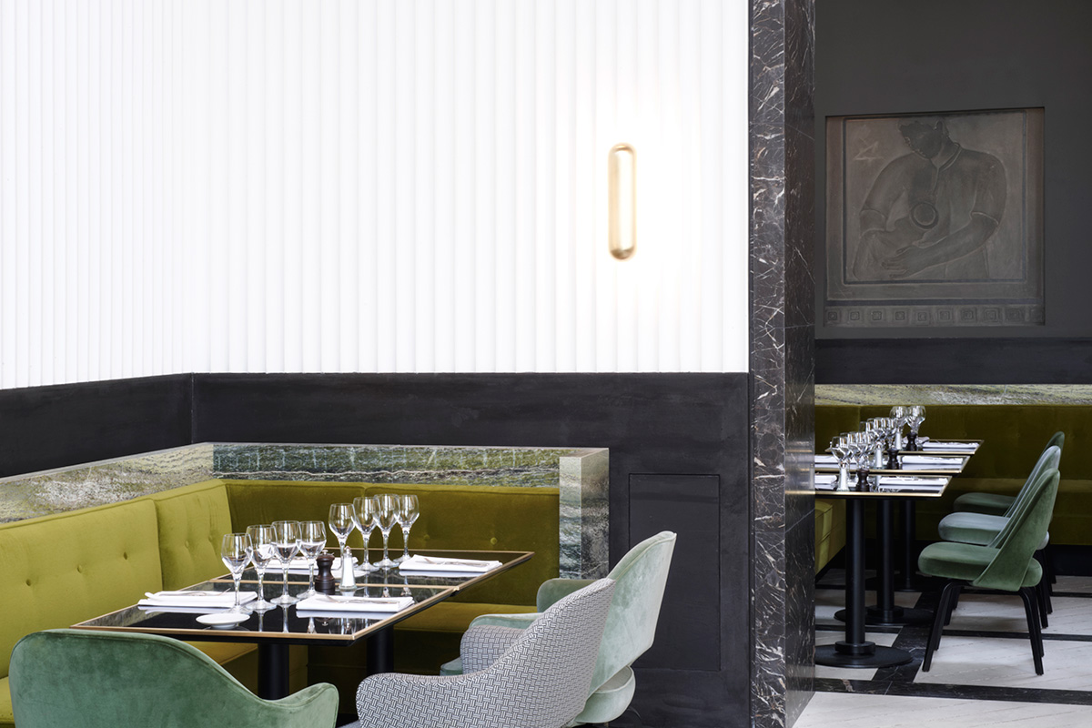 Monsieur bleu restaurant at the palais de tokyo in paris for Cuisine bleu