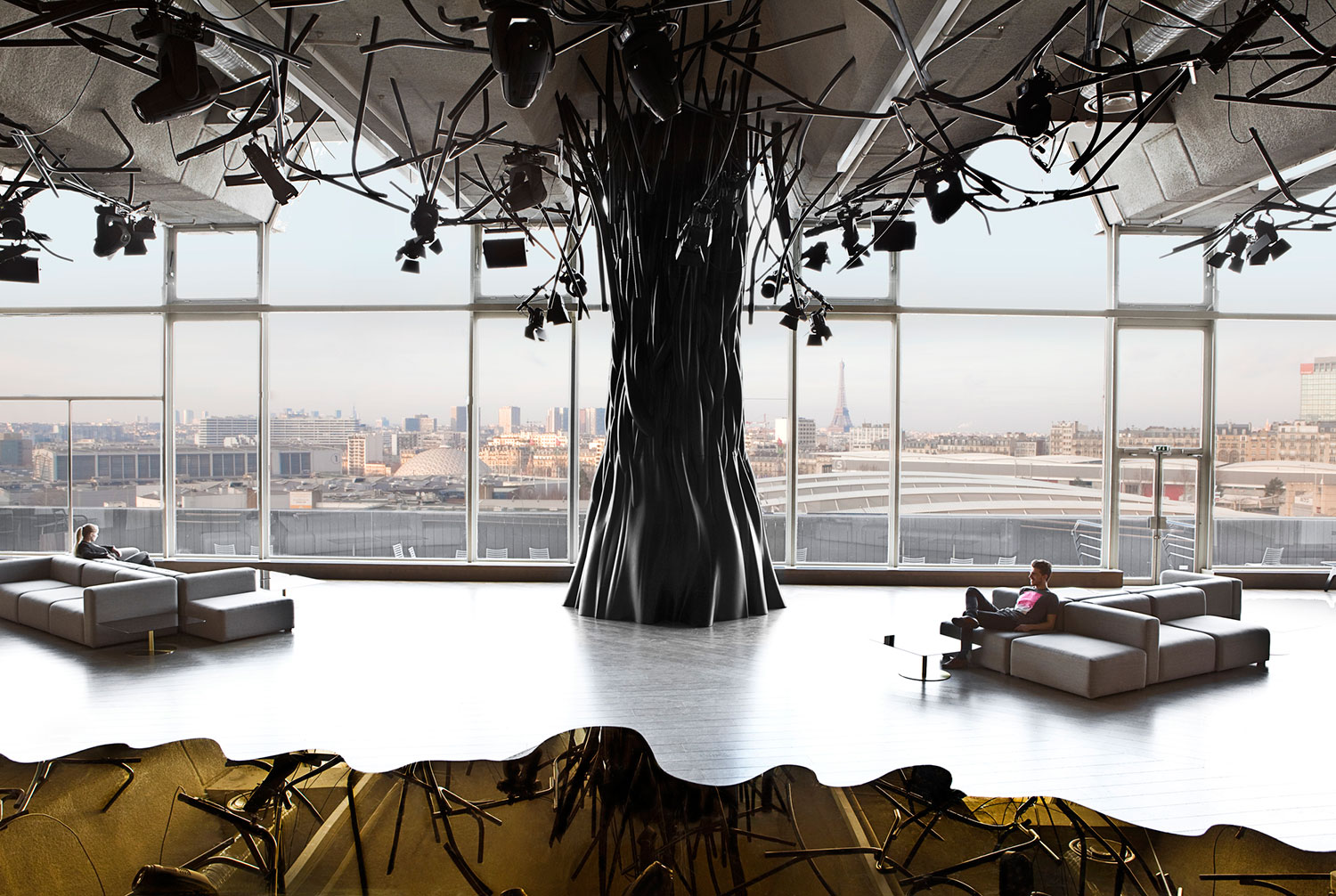 So Hot Right Now... Trees In Interior Design | Yellowtrace.