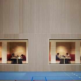 Fontys Sports College, Netherlands by Mecanoo Architecten | Yellowtrace.