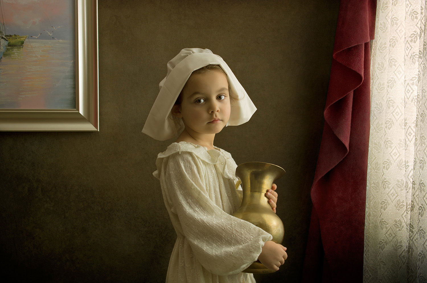 Vermeer Portrait Lighting