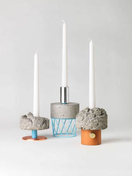 David Taylor, Crowd candleholders | Yellowtrace