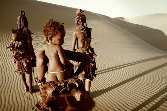 Himba Tribe, Namibia. Photo by Jimmy Nelson   Yellowtrace