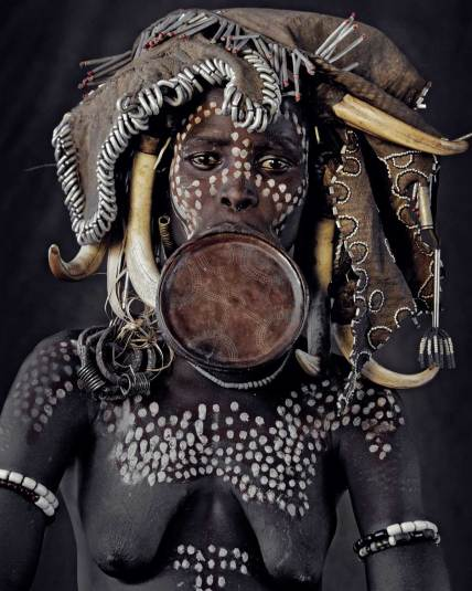 Mursi Tribe, Ethiopia. Photo by Jimmy Nelson   Yellowtrace