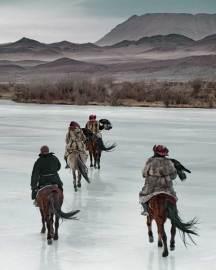 The Kazakhs, Mongolia. Photo by Jimmy Nelson   Yellowtrace