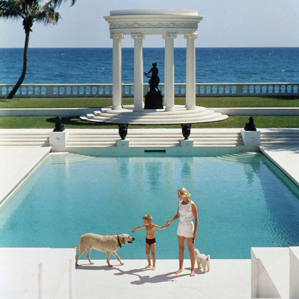 Happy holidays from yellowtrace slim aarons - Guest house in goa with swimming pool ...
