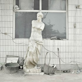 Chinese Artists Reproducing Classical Sculptures   Yellowtrace