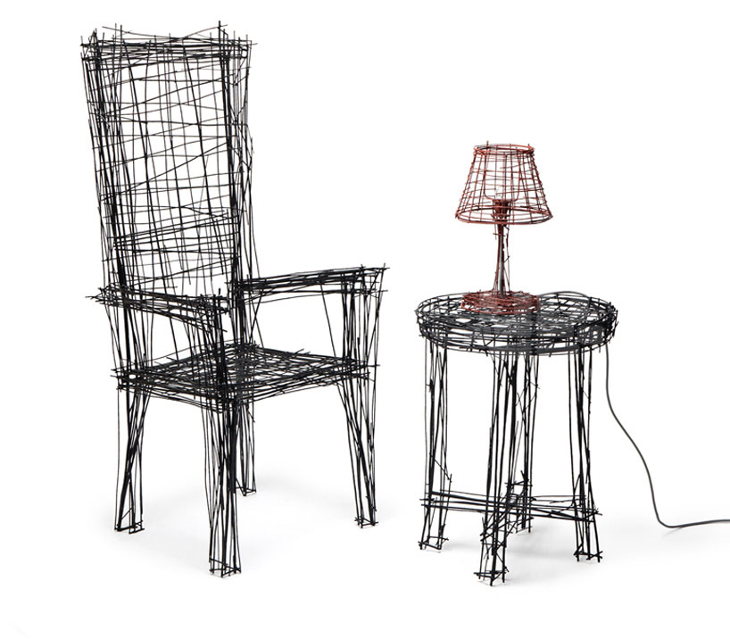Drawing Chair by Jin Il Park IMM Cologne | Yellowtrace