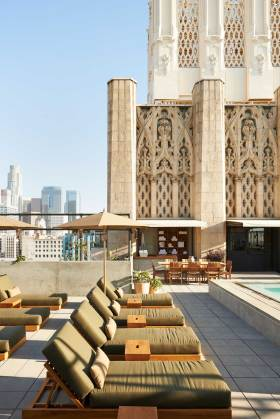 Downtown LA Ace Hotel | Yellowtrace