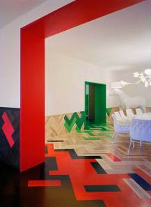 Colourful Stockholm Apartment Inspired by Changing Seasonal Colours   Yellowtrace