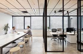 Blackwood Street Bunker, Shared Office Space in Melbourne by Clare Cousins Architects | Yellowtrace