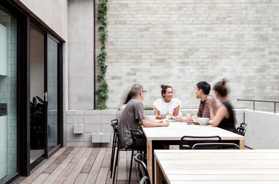 Clare Cousins' Melbourne Office, Blackwood Street Bunker   Yellowtrace