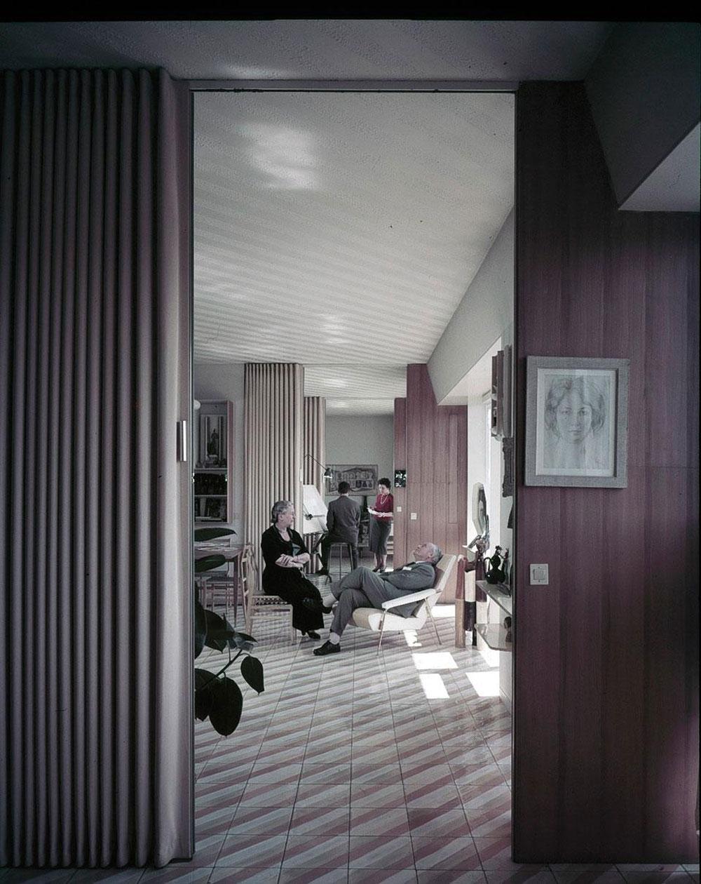 Milan homes of legendary architect gio ponti yellowtrace for Interni casa