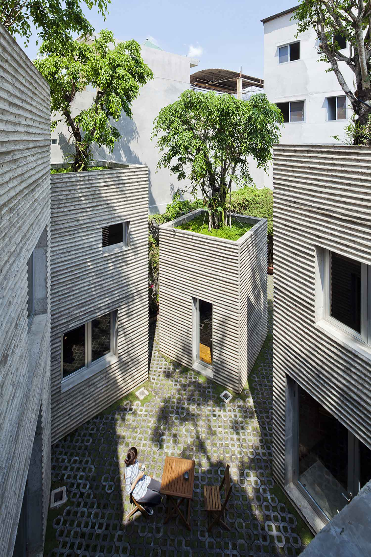 House For Trees By Vo Trong Nghia Architects Yellowtrace