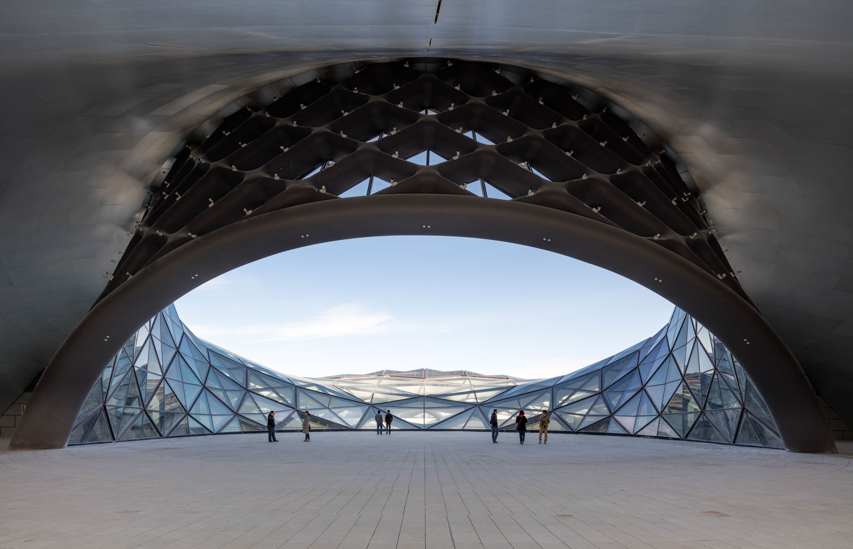 Harbin Opera House By Mad Architects Yellowtrace