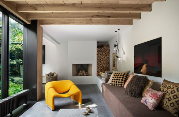 Peter's House in Copenhagen by Studio David Thulstrup | Yellowtrace